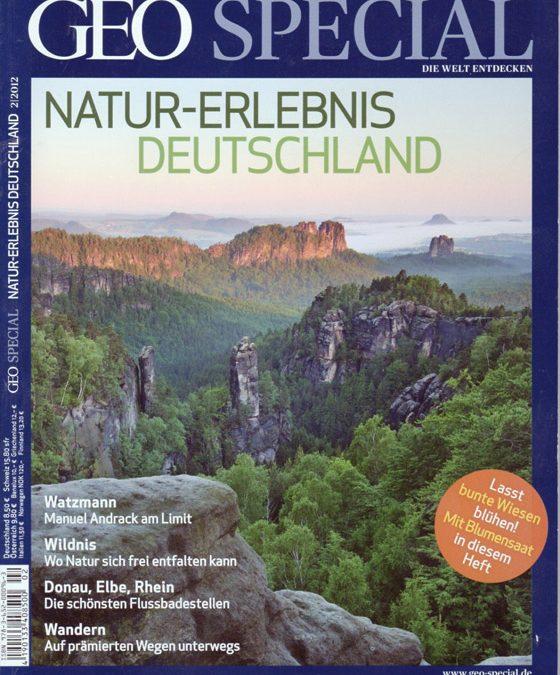 Manuel Andrack, GEO Spezial Natur-Erlebnis Deutschland