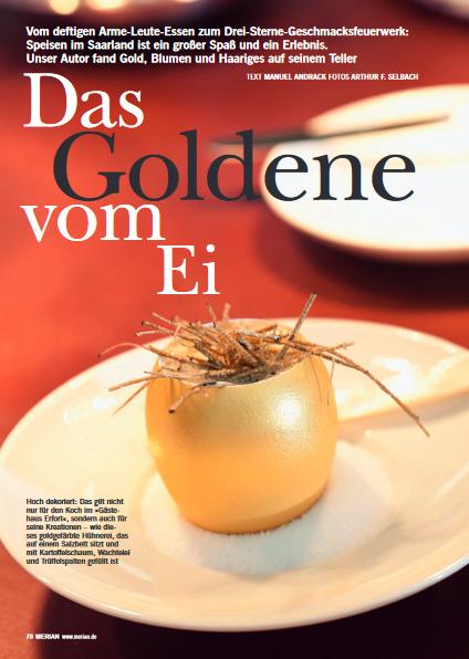 Manuel Andrack, Das Goldene vom Ei